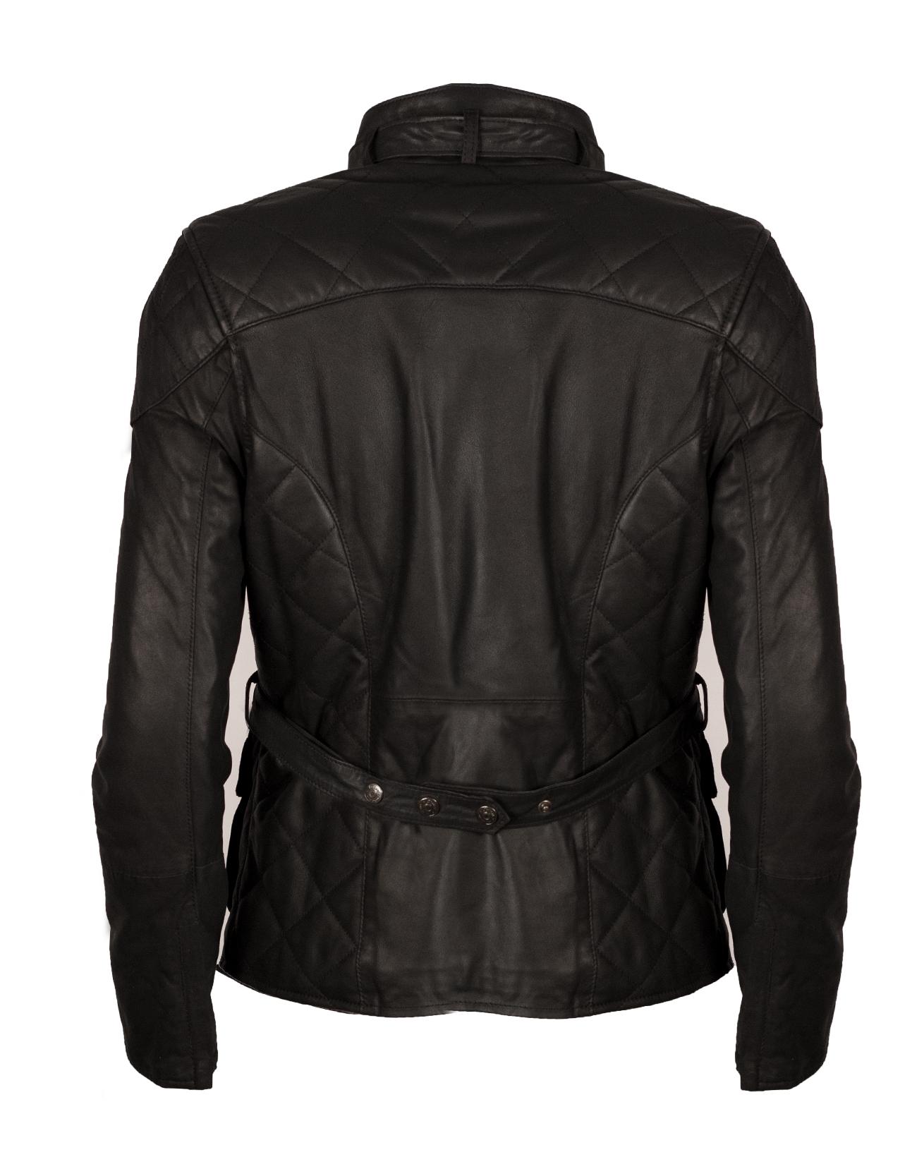 Leather jacket size 18 -  2 18 Back Jpg