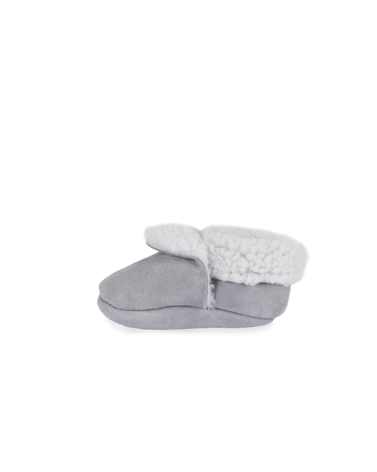 c07e63c8fe2cf Sheepskin Pram Shoes. Double tap to zoom