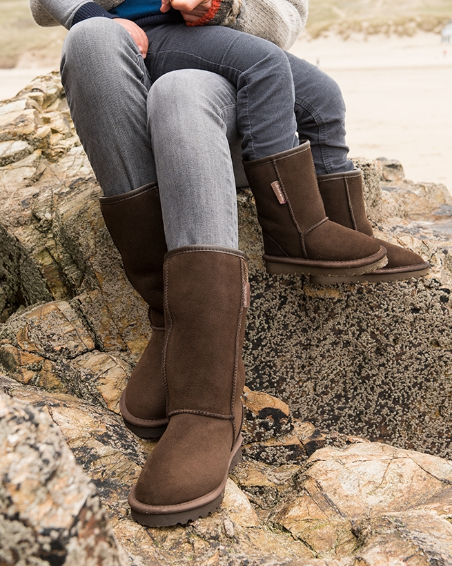 b05183cd8ea Classic Sheepskin Boots - Calf Height. Double tap to zoom