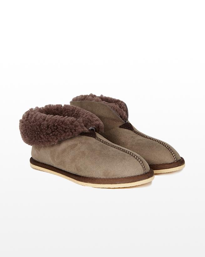 Ladies Sheepskin bootee slipper - Size 5 - Vole - 1966