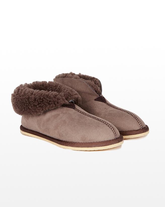 Ladies Sheepskin Bootee Slipper - Size 7 - Vole - 2078