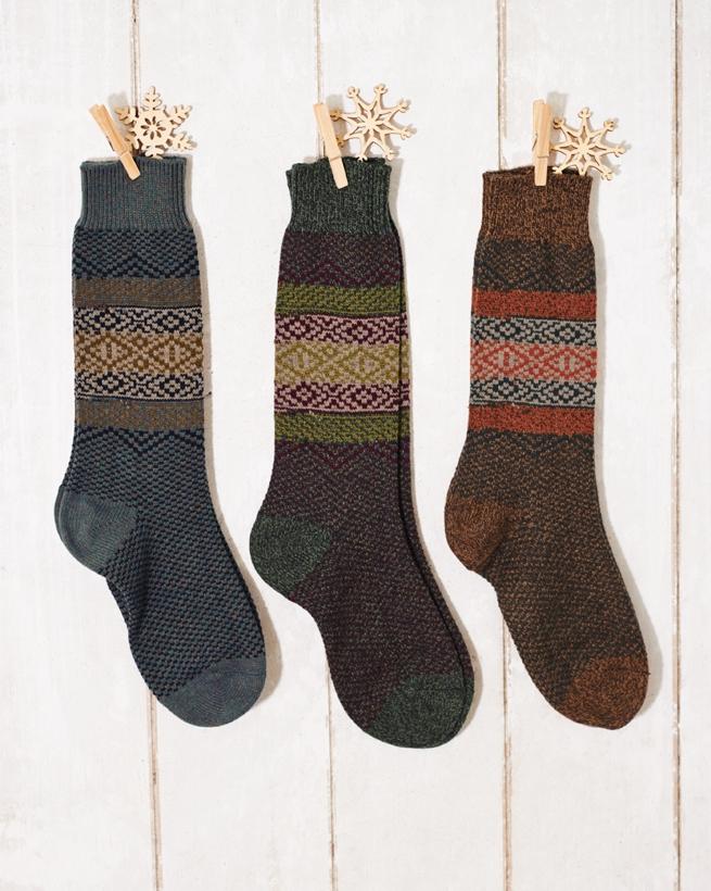 Men's Fair Isle Socks