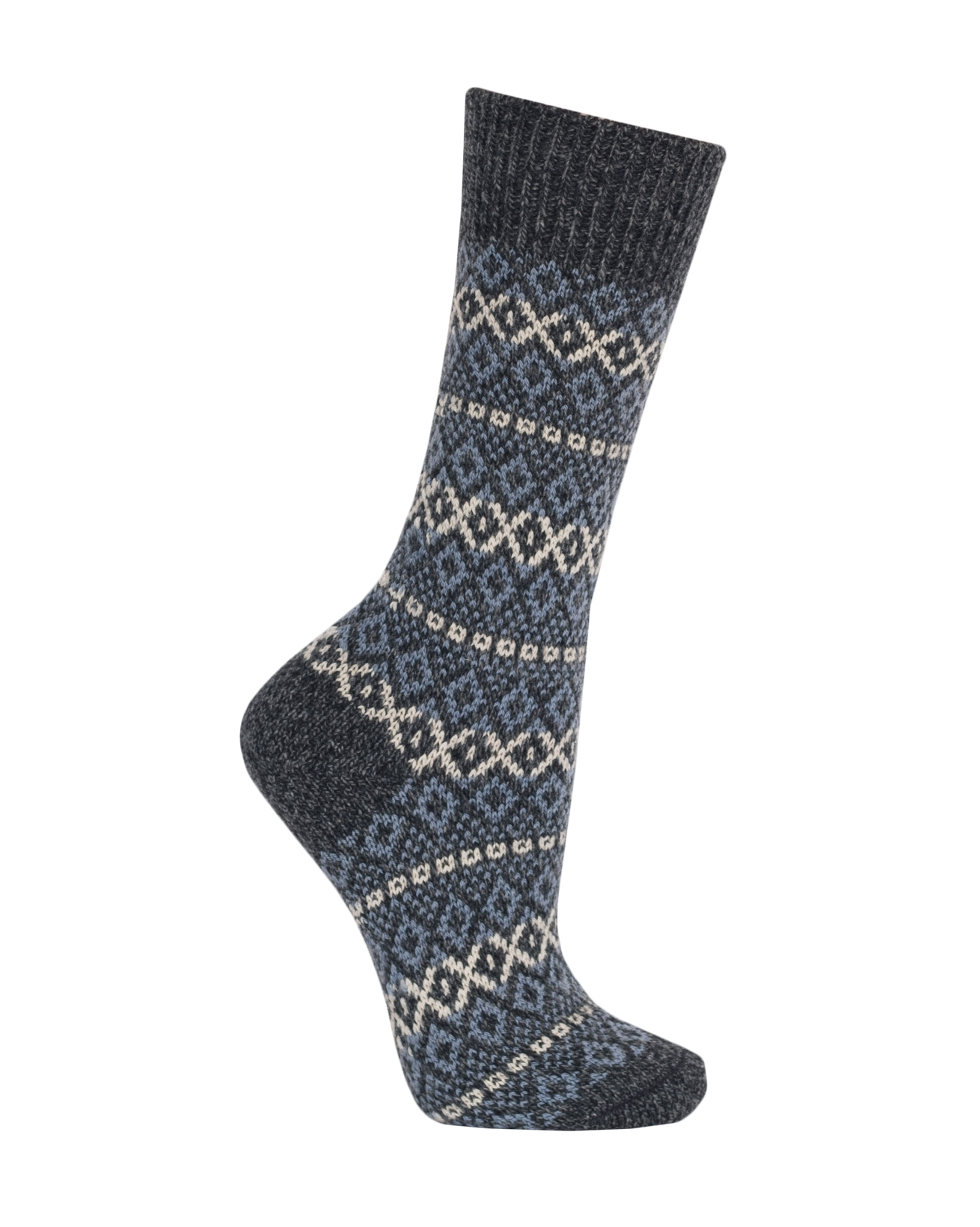 6859_ladies_fairisle_socks_charcoal marl.jpg