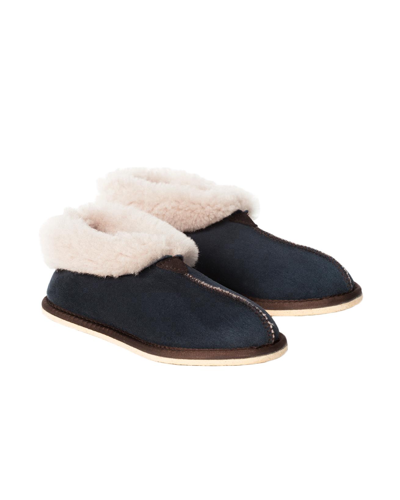 Ladies Bootie Slipper - Size 4 - Blue Iris - 1577