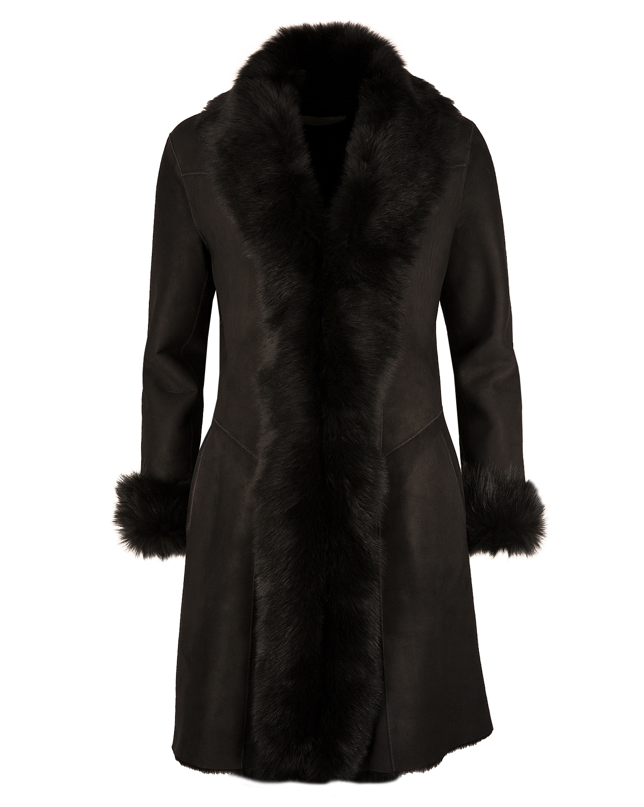 3/4 Toscana Trim Coat - Size 10 - Black - 1208