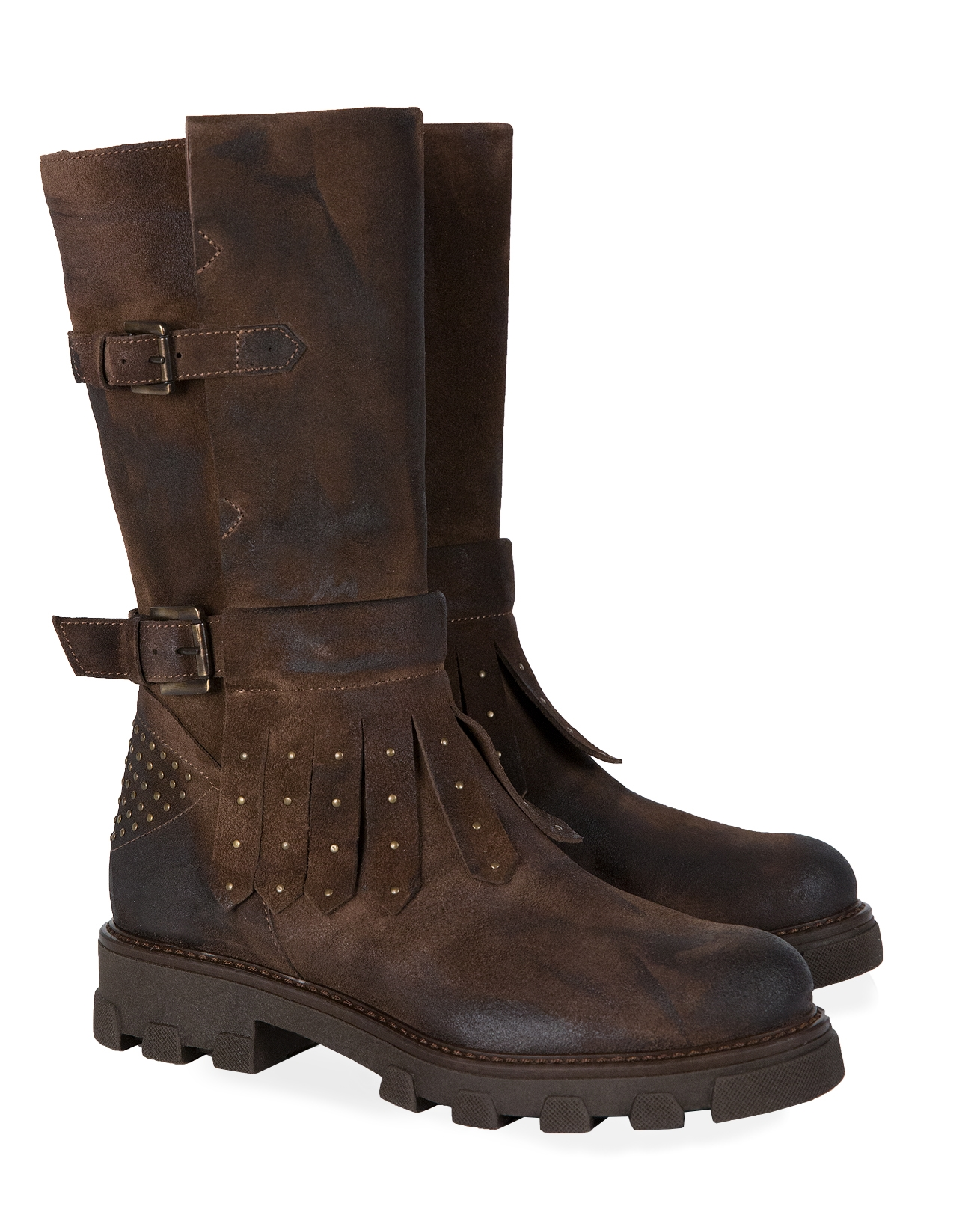 Warrior Boots - EU 37 - Brown - 455
