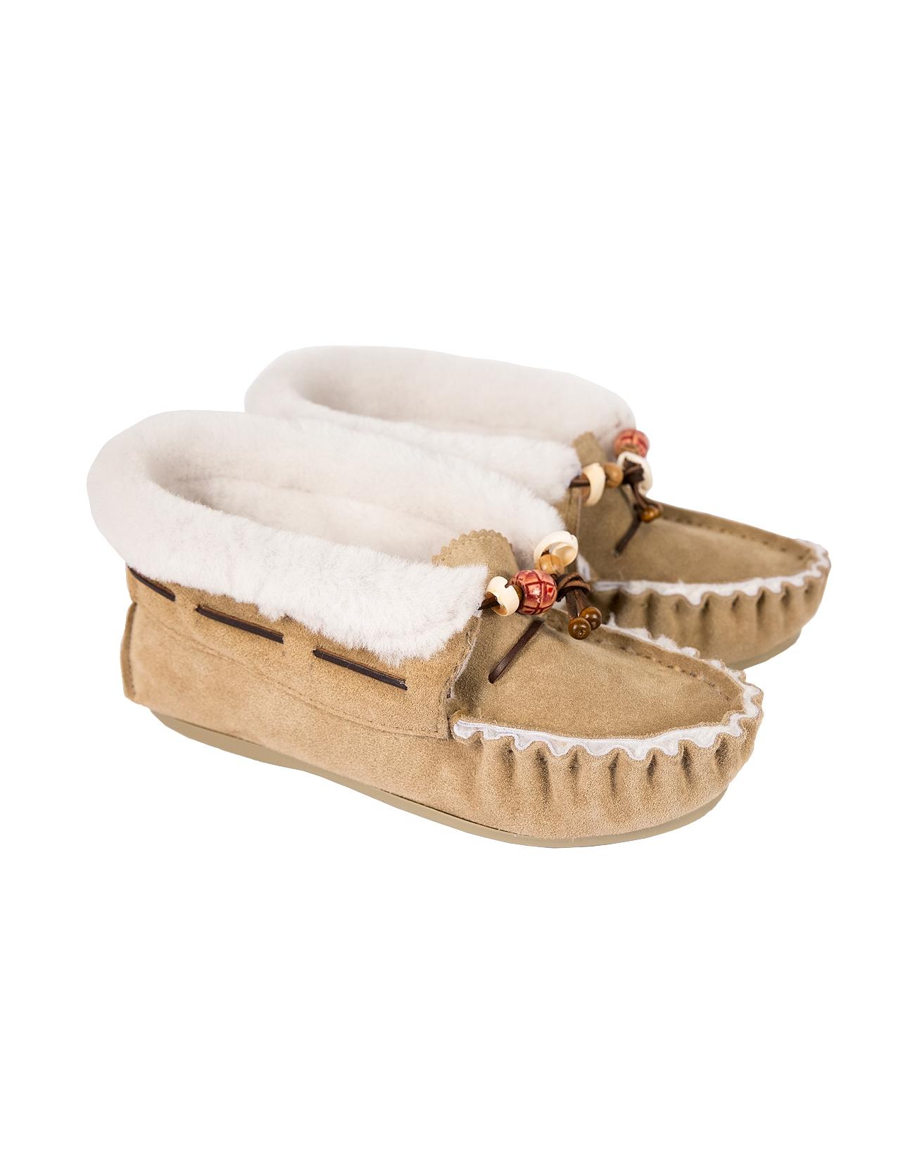 Lakota Moccasins - Size 8 - Camel - 526