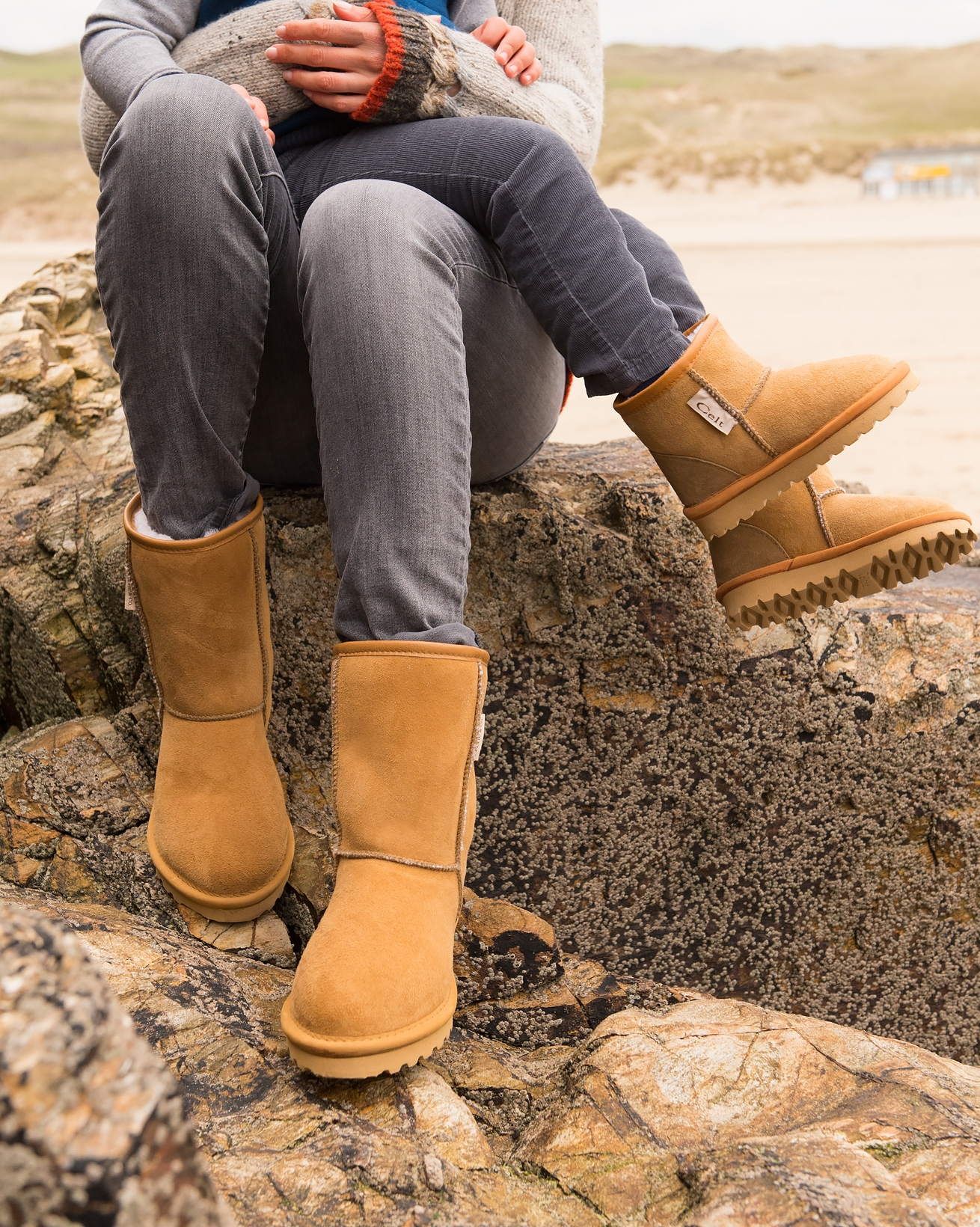 Classic Sheepskin Boots - Regular Height