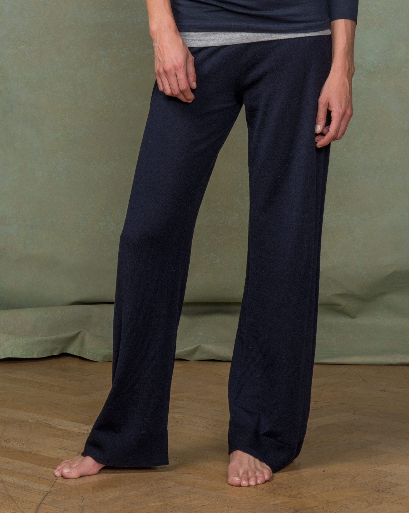 Wide Leg Merino Lounge Pants