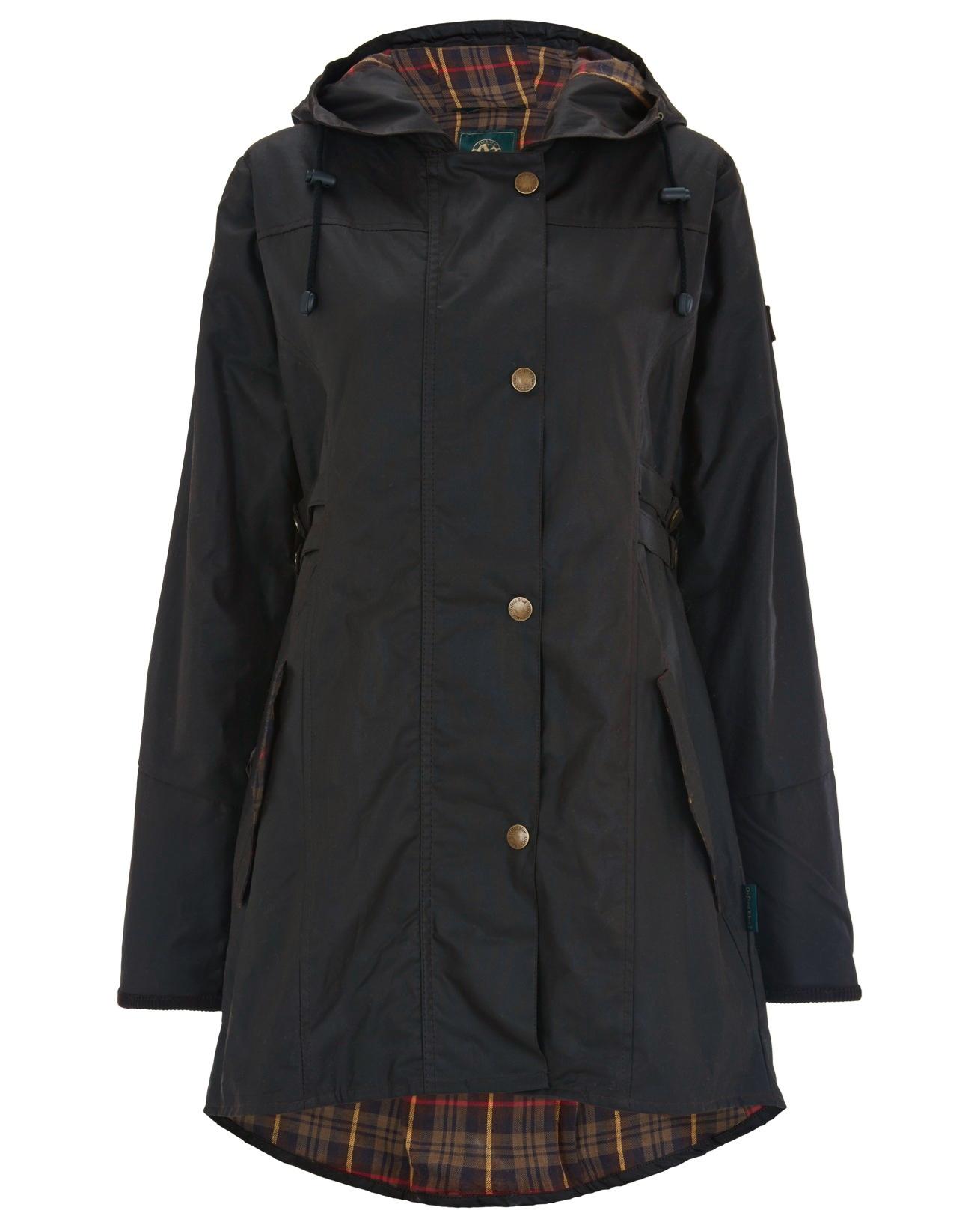 Wax Riding Coat - Size 14 - Dark Navy - 1603