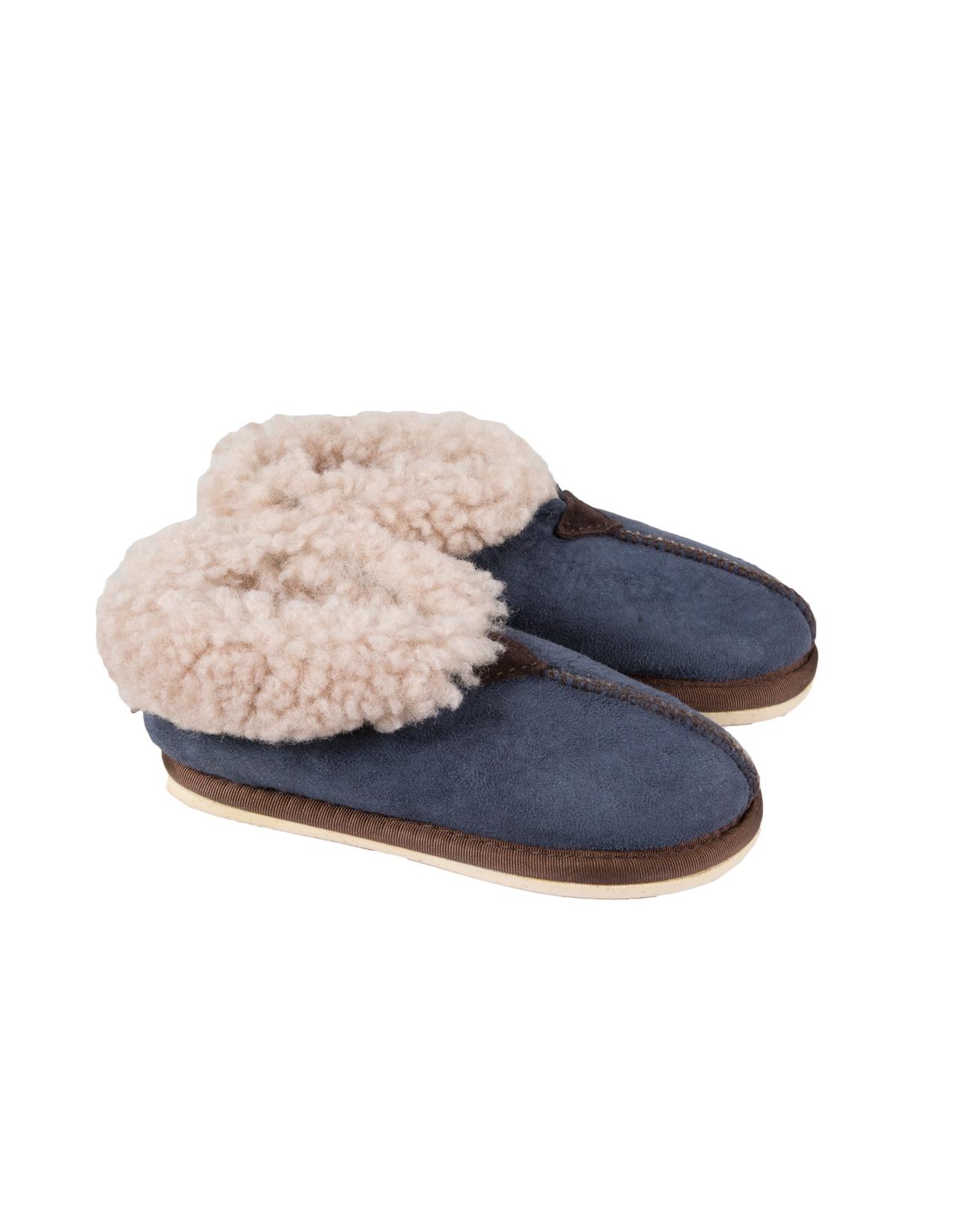 Kids Bootee Slipper - Size 9-10 - Blue