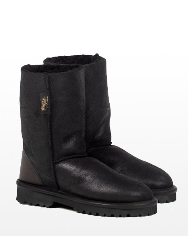 Mens Aqualamb Boot - Size 13 - Black - 344