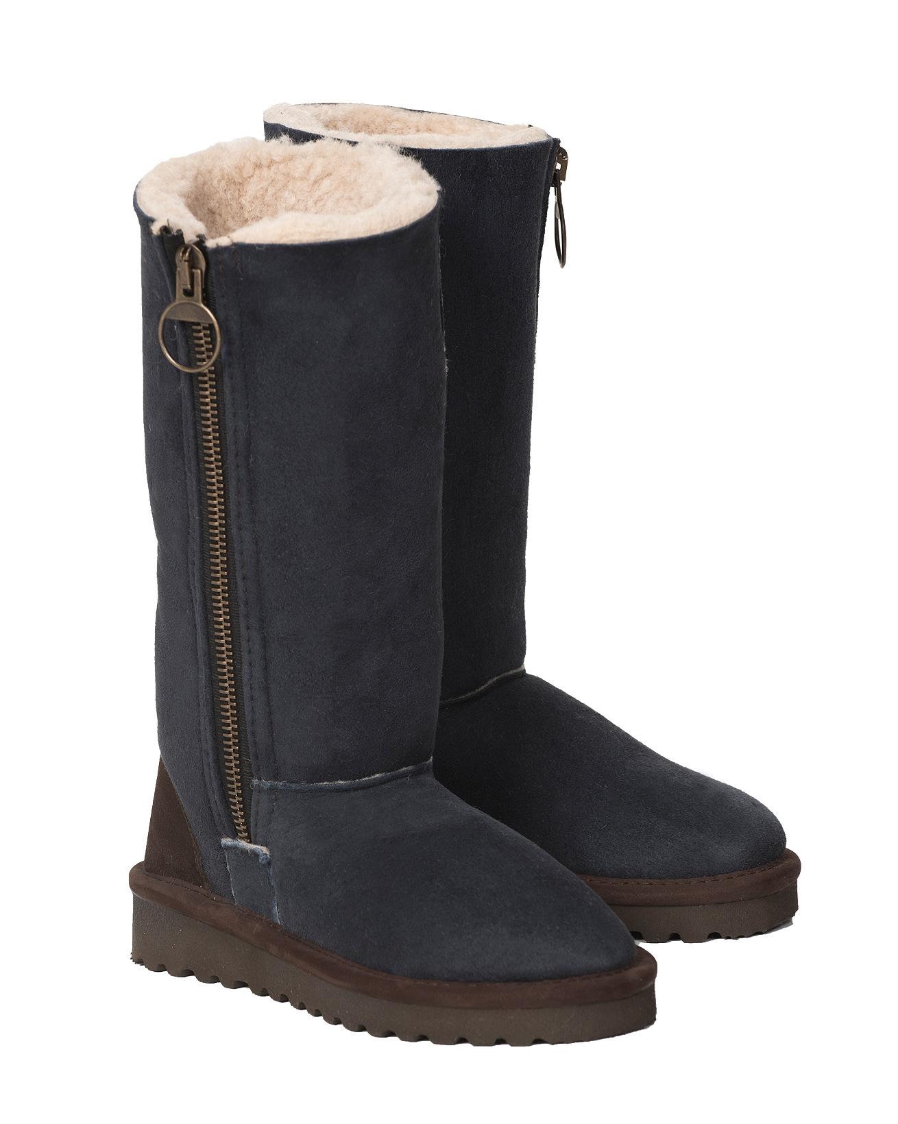 Aviator Calf Boot - Size 9 - Blue Iris - 1530