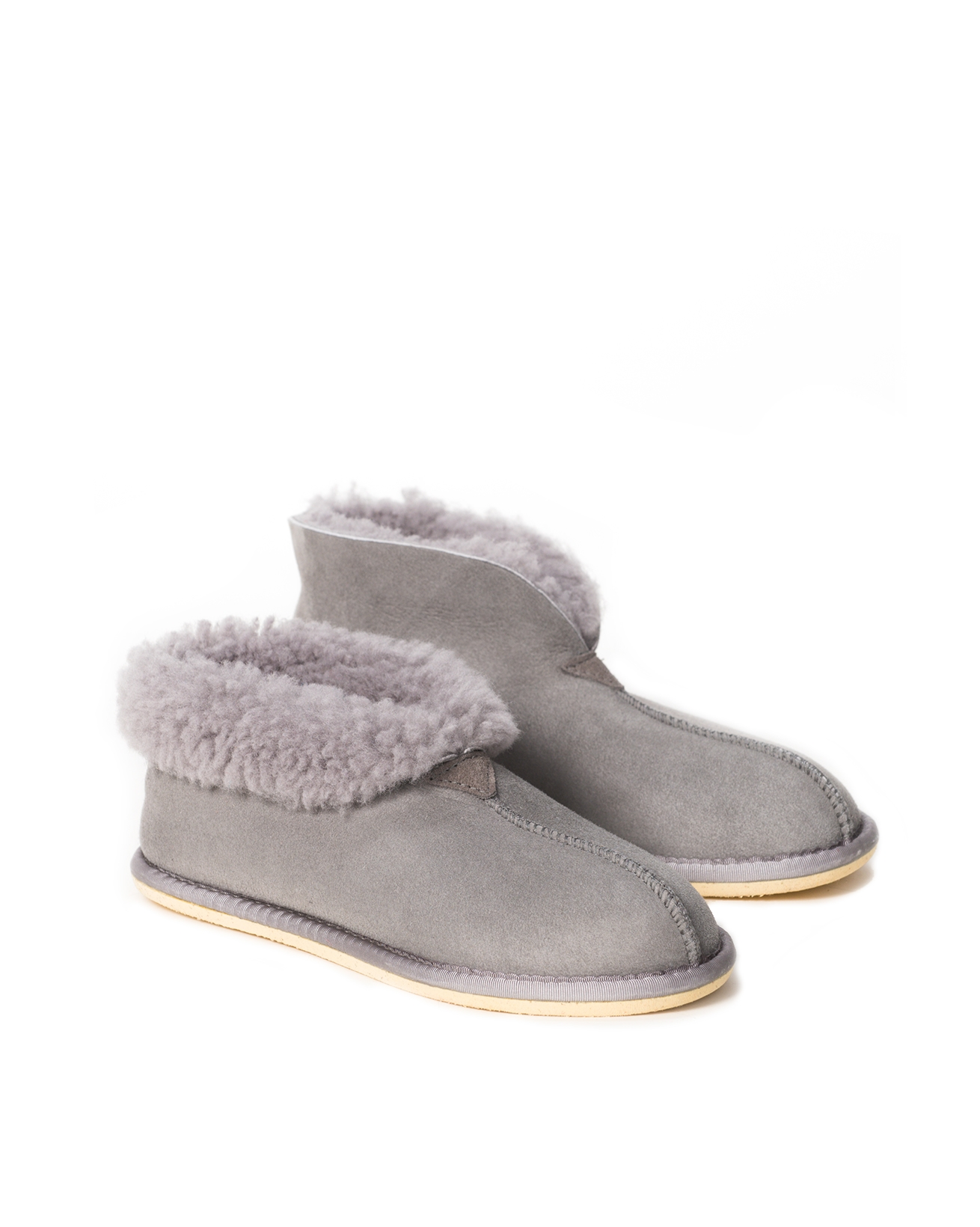 Ladies' Shearling Bootee Slippers