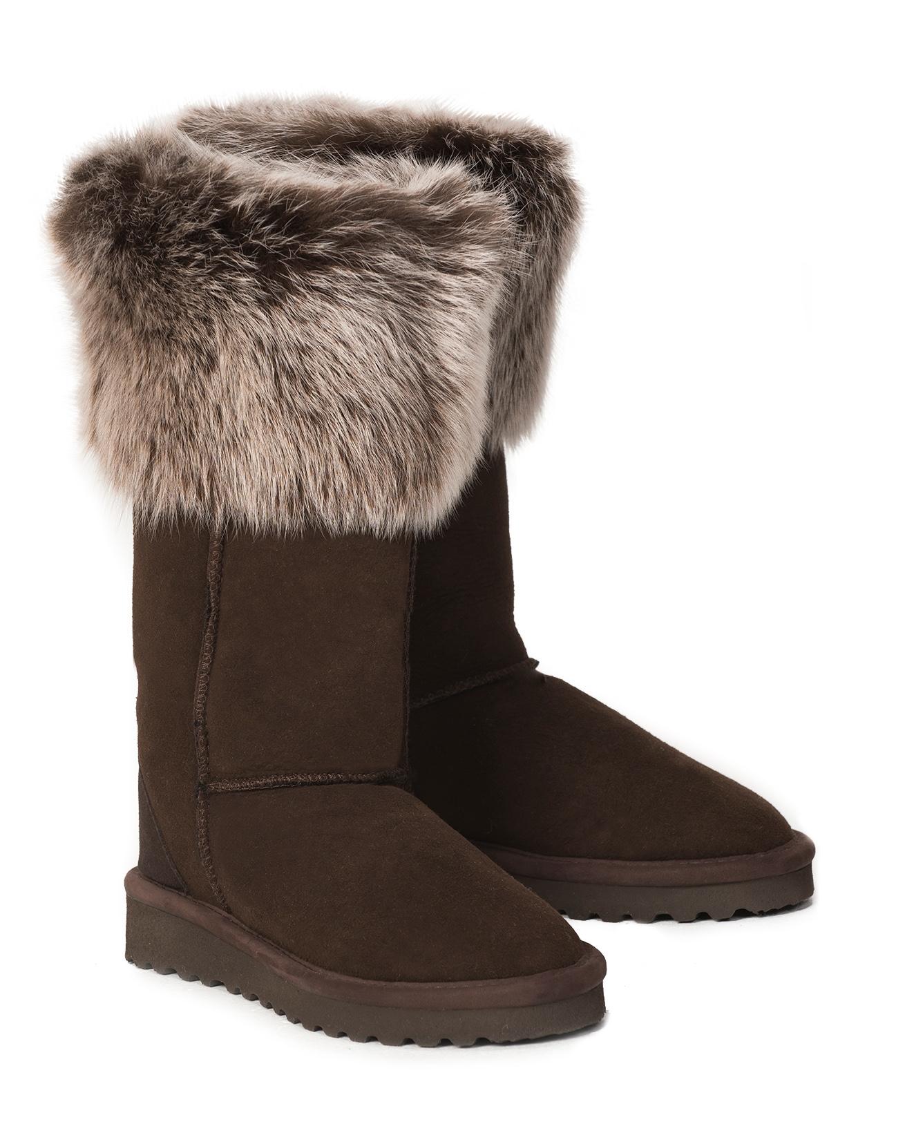 Toscana Calf Boot - Size 7 - Mocca Snow Tip - 2318