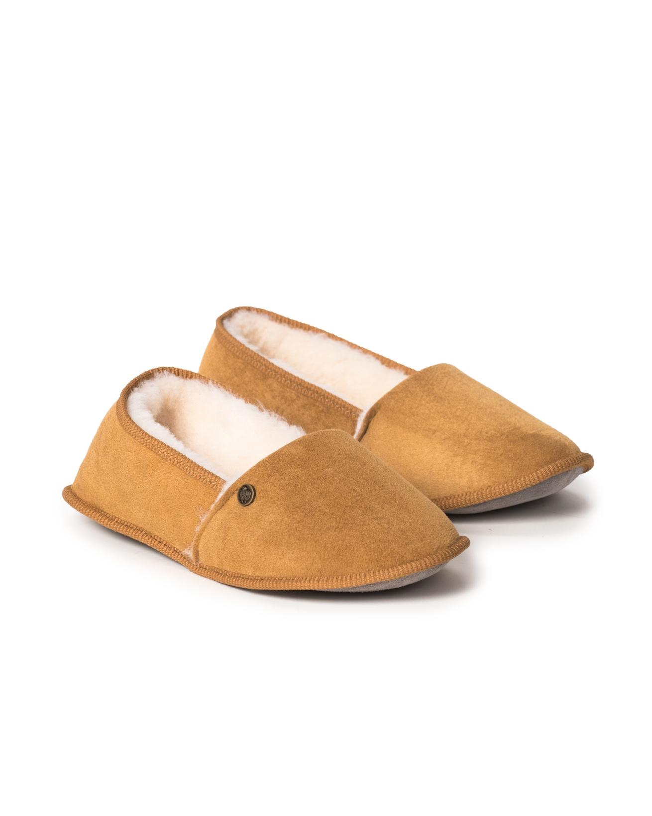 Sheepskin Venetian Slipper - Size 4 - Spice - 1306