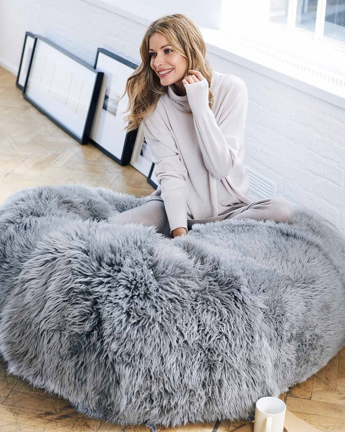 Sheepskin Yeti Beanbag