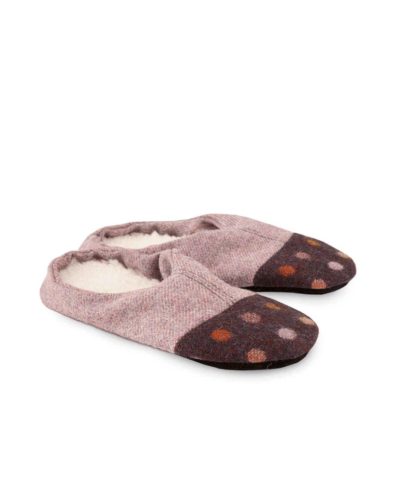 Hotchpotch Slipper - Medium - Purple - 305