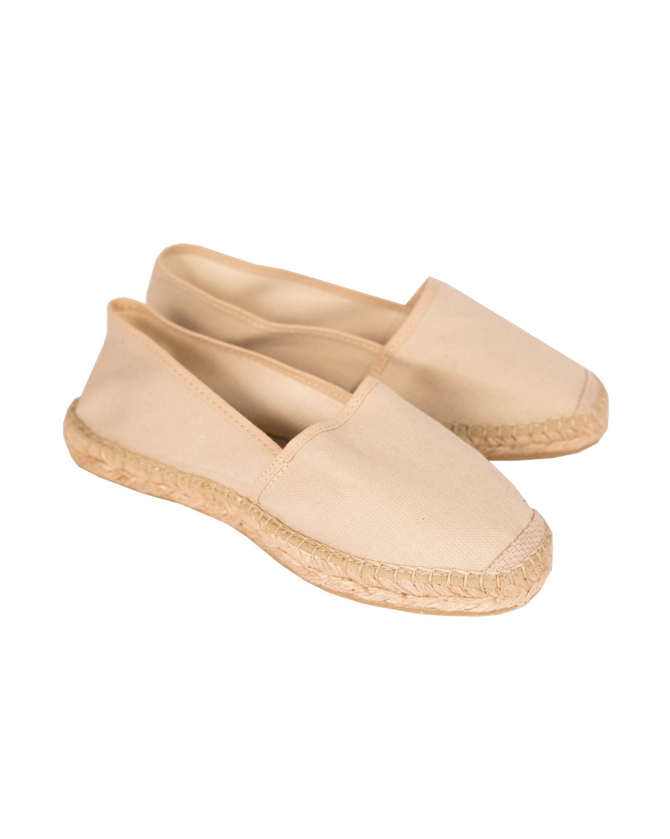 Canvas Flat espadrille - Size 40 - Taupe - 45a