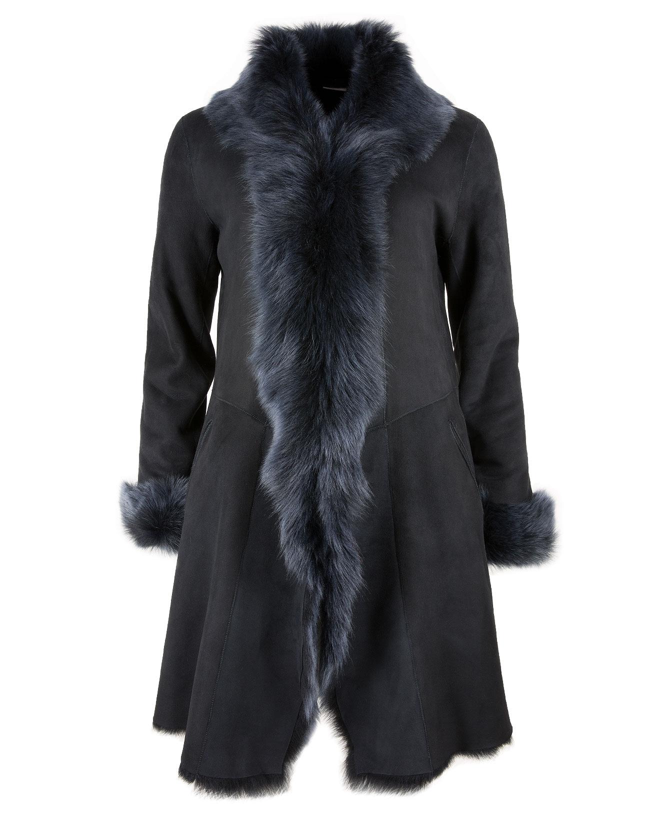 3/4 Toscana Trim Coat - Size 10 - Midnight Blue - 1145