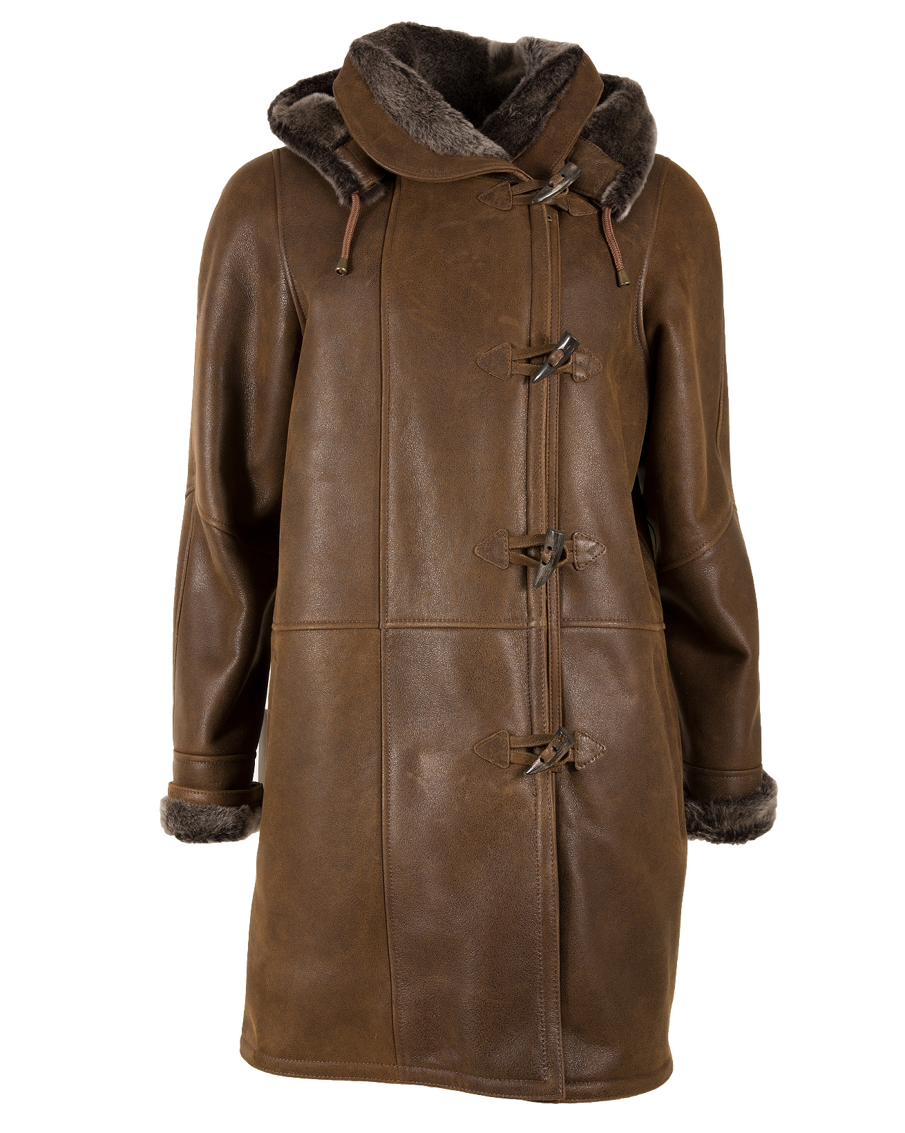 6026-duffle coat-honey brown-front-aw18.jpg