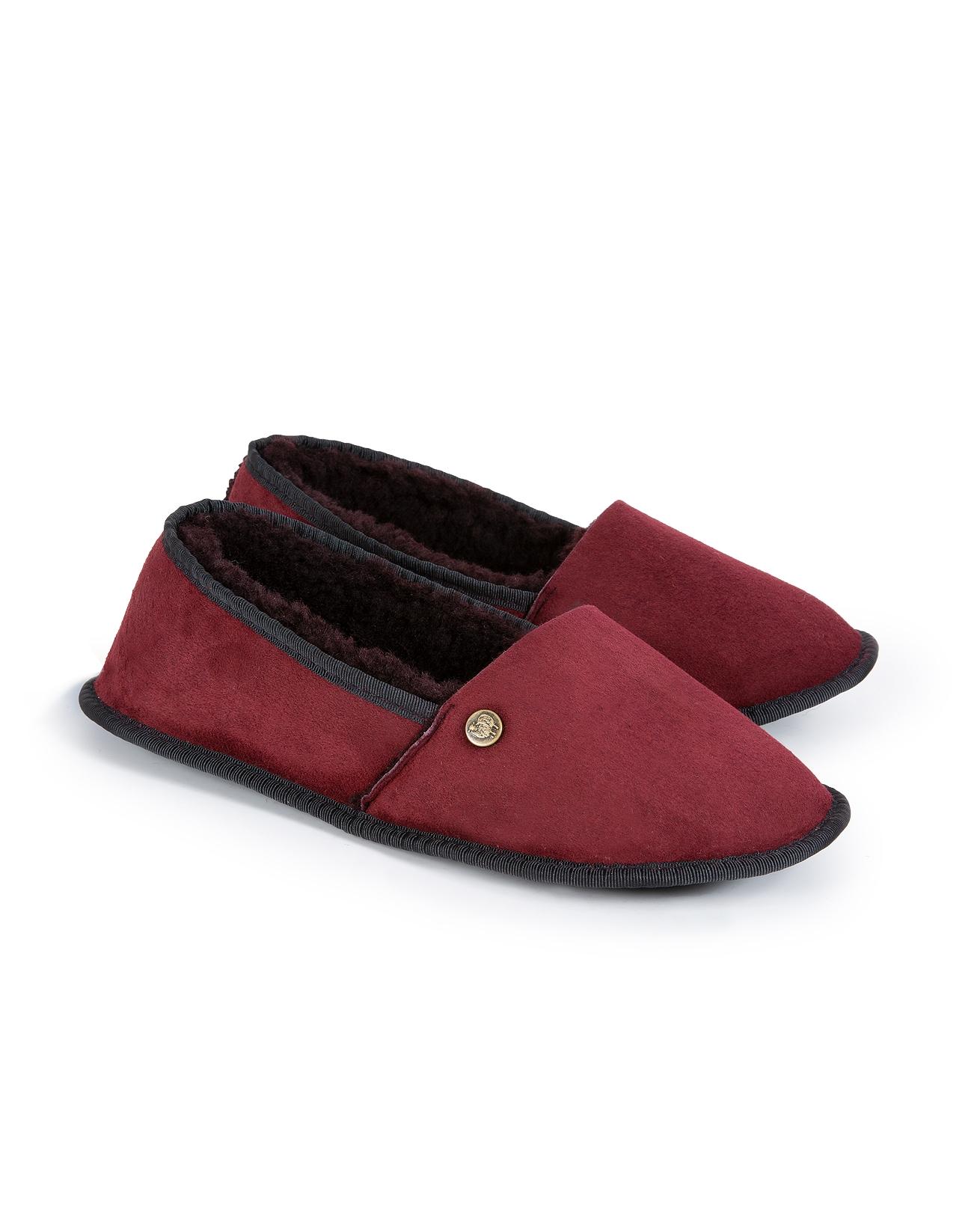 Venetian Slippers - Size 6 - Claret - 1225