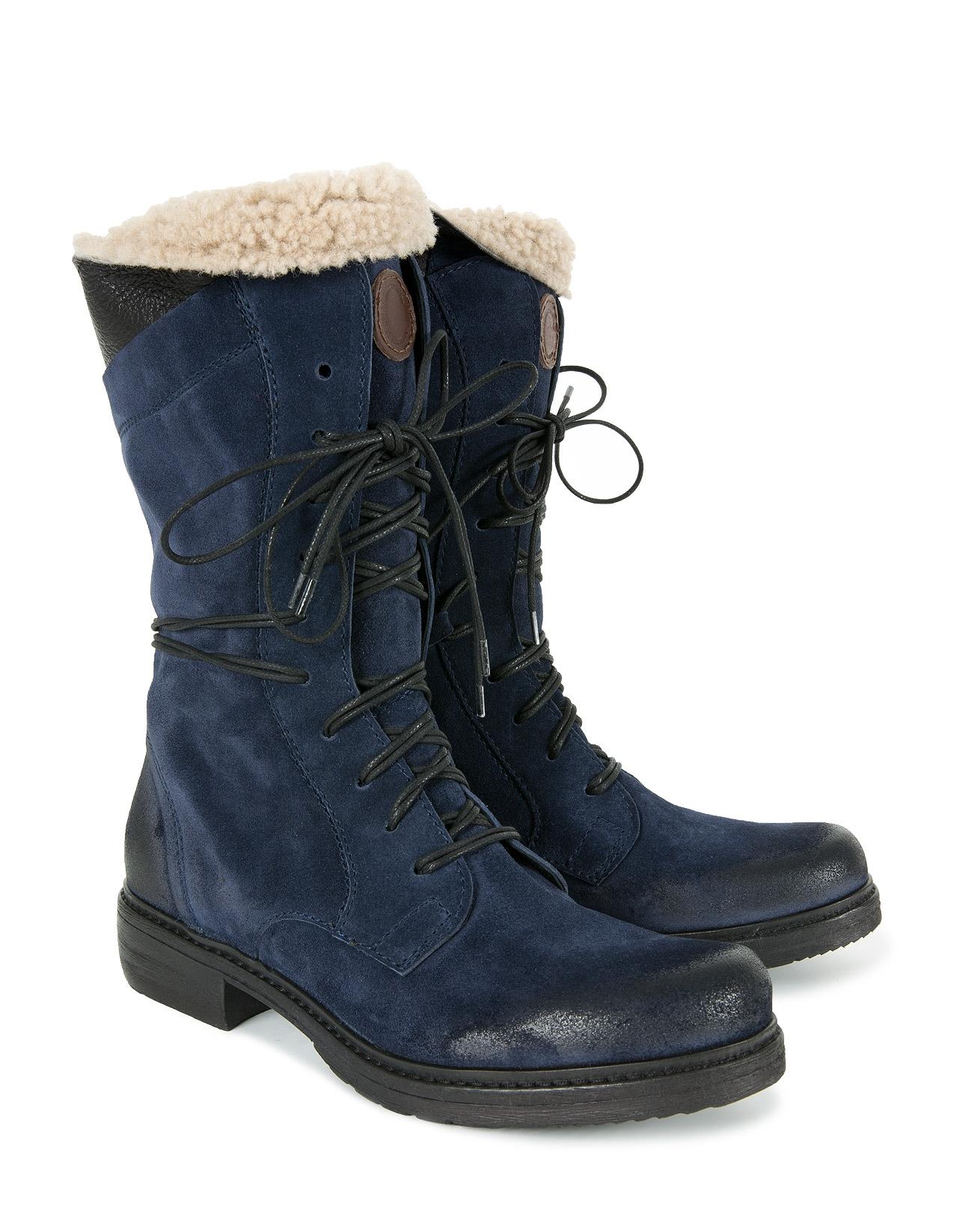 Woodsman Boots - Size 38 - Navy - 1161