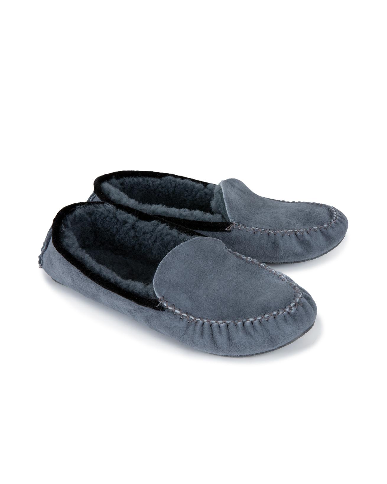 Dena Moccasins - Size 8 - Dark Grey - 808