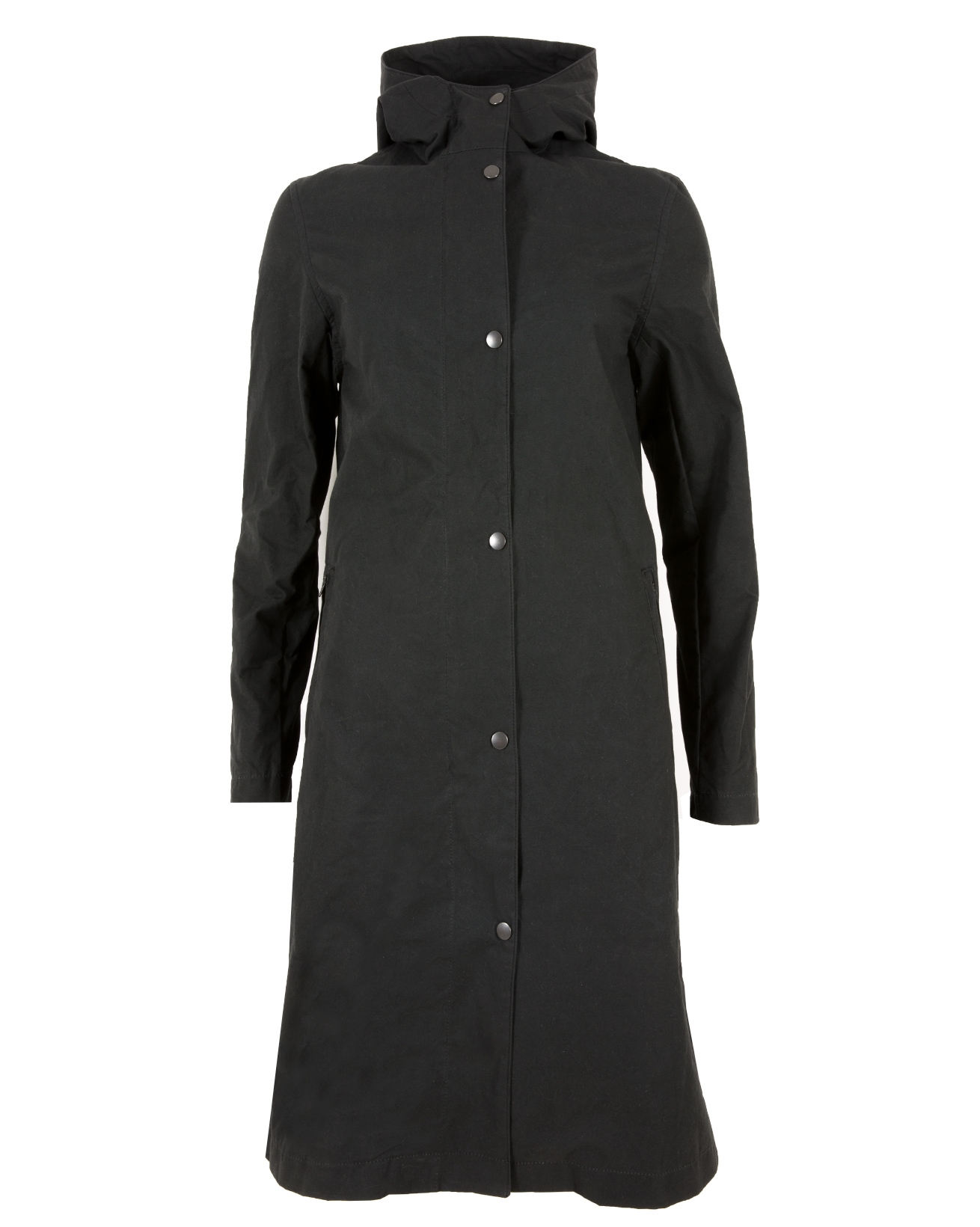 7507-long wax rain coat-black-front.jpg
