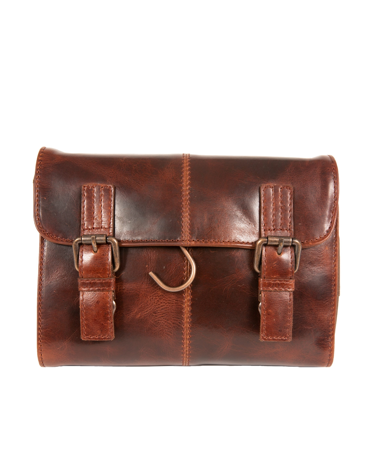 7541- burnished hanging wash bag-chesnut-front.jpg
