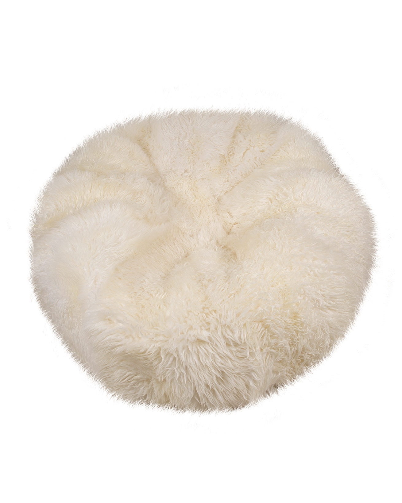 Sheepskin Yeti Beanbag - Large 115cm diameter x 40cm high - Ivory - 1647