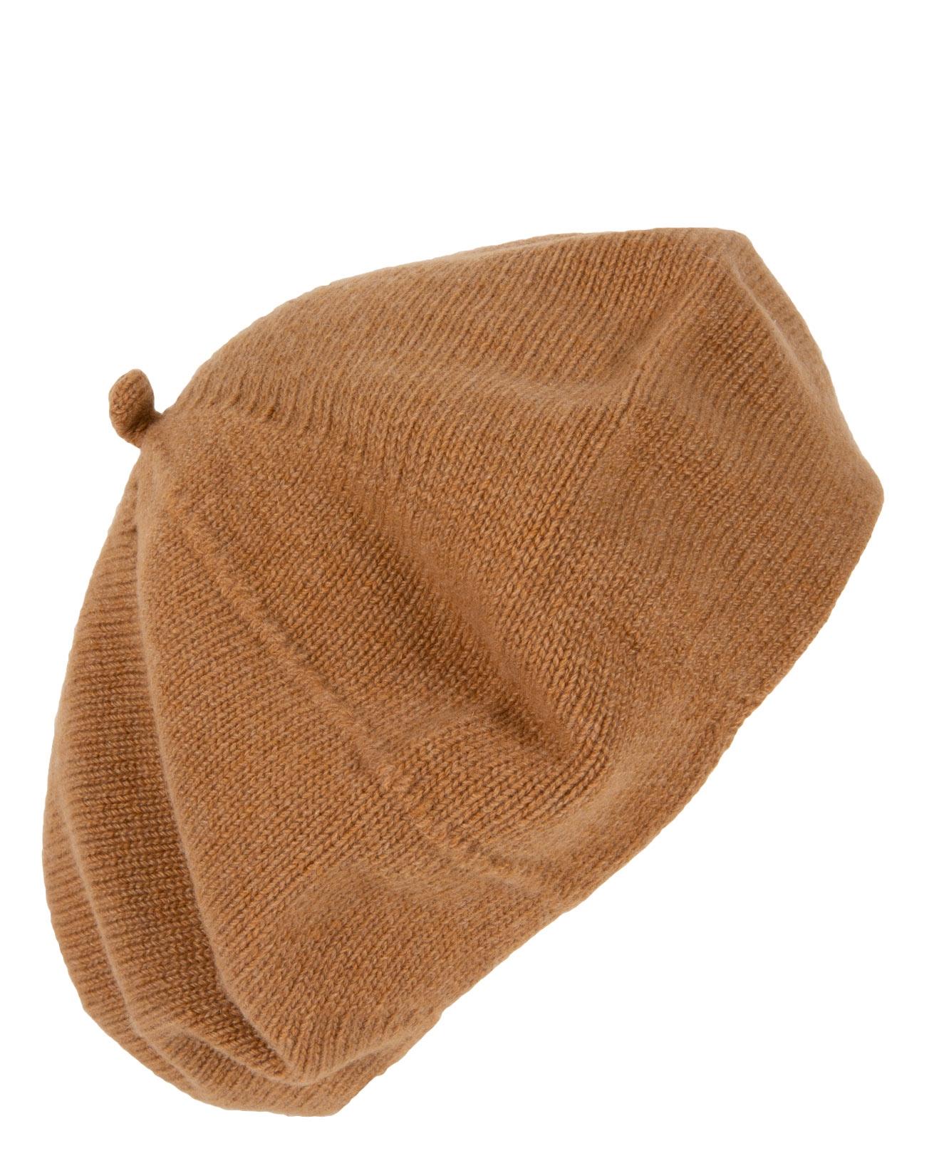 7489- cashmere beret-dark camel- side.jpg