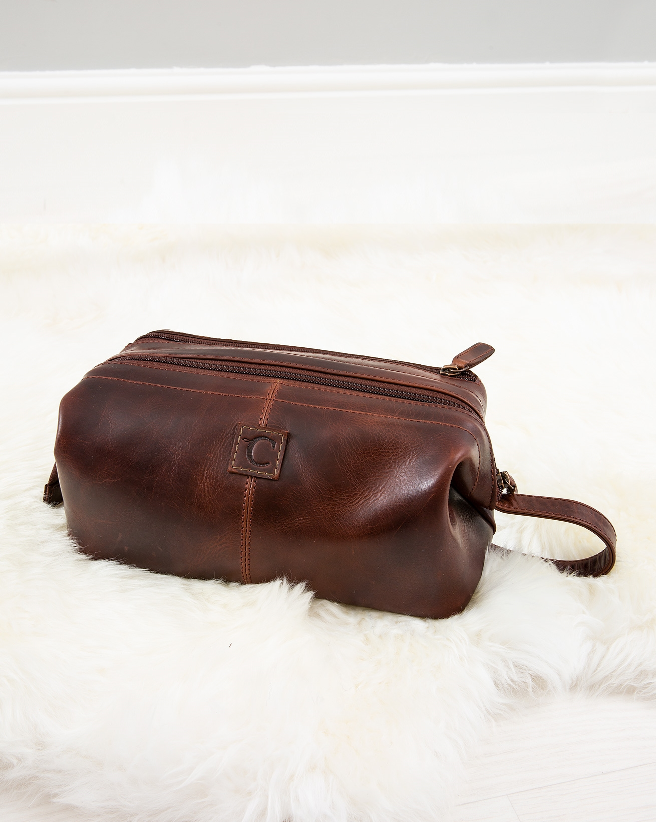 Burnished Washbag