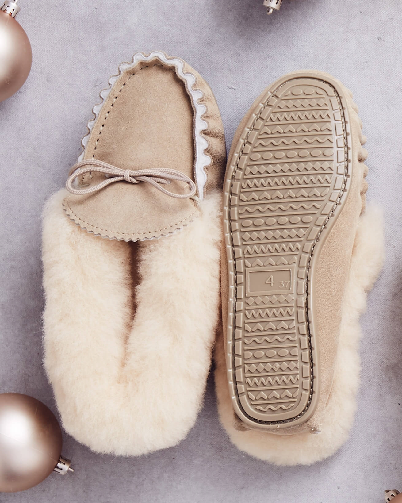 Lounger Moccasins - Hard Sole