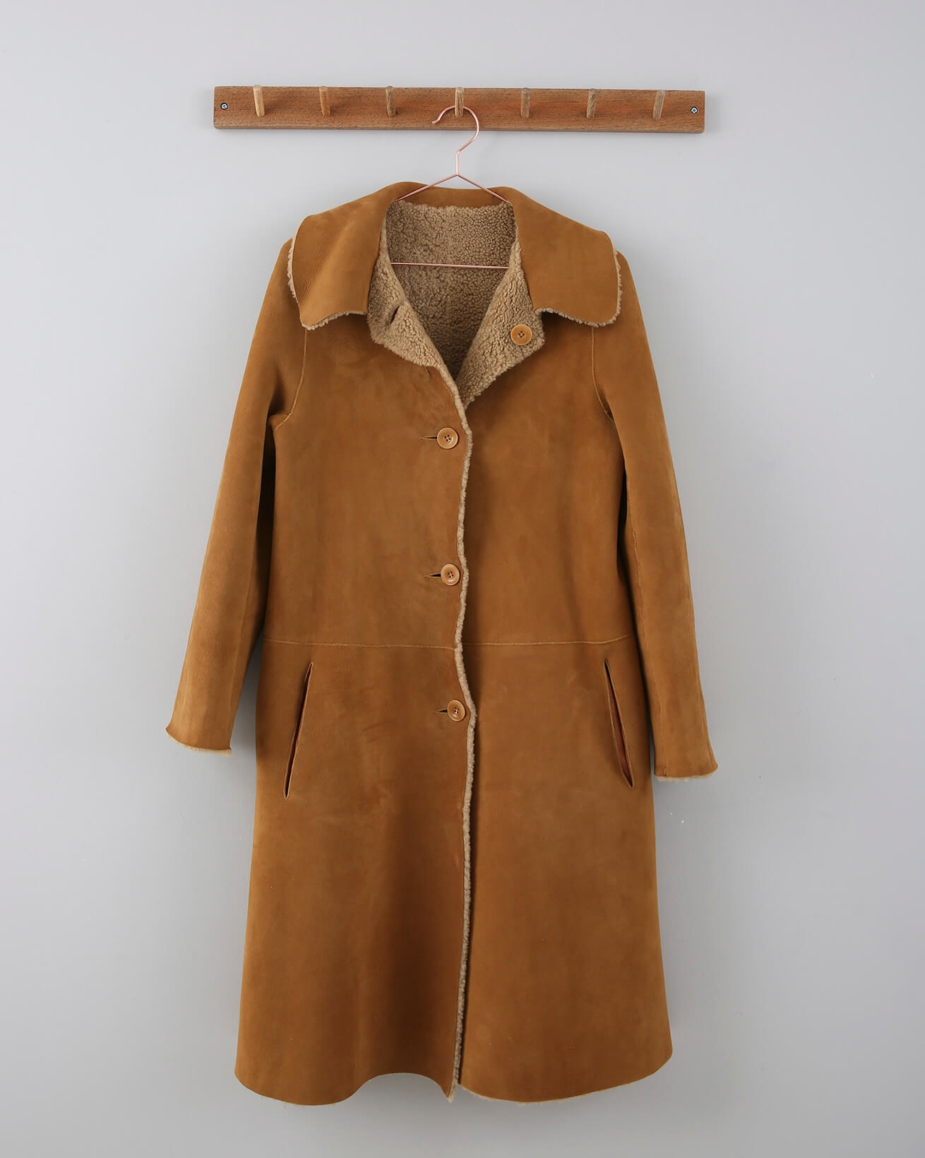 Teddy Coat - Size 10 - Ginger - 677