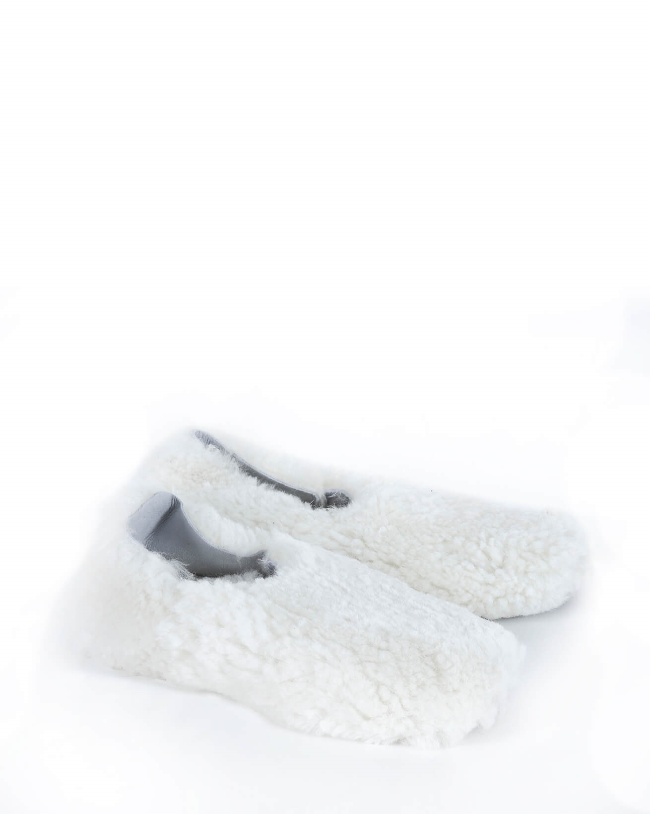 Cocoon Slipper - Size 2 - Winter White - 1174