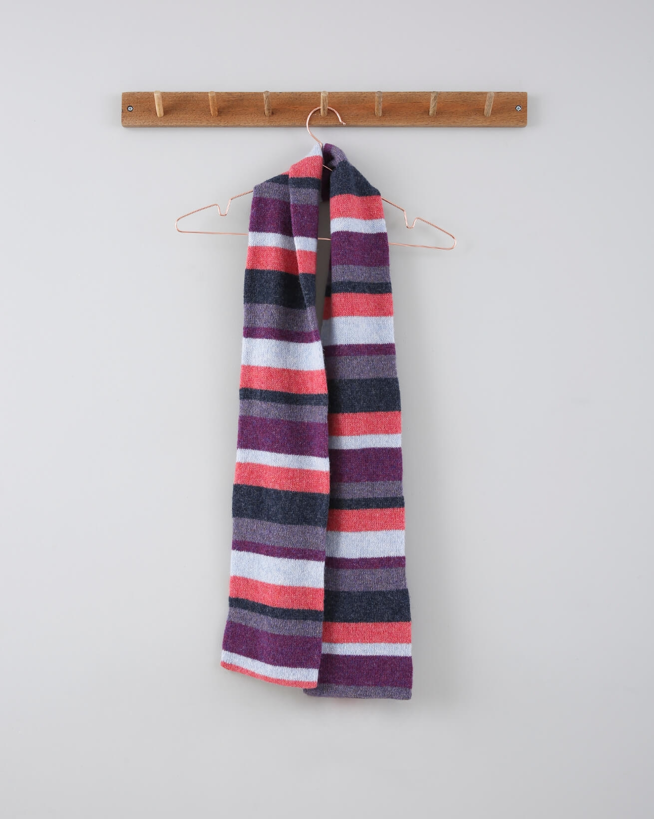 Stripe Scarf - One Size - Multi - 754
