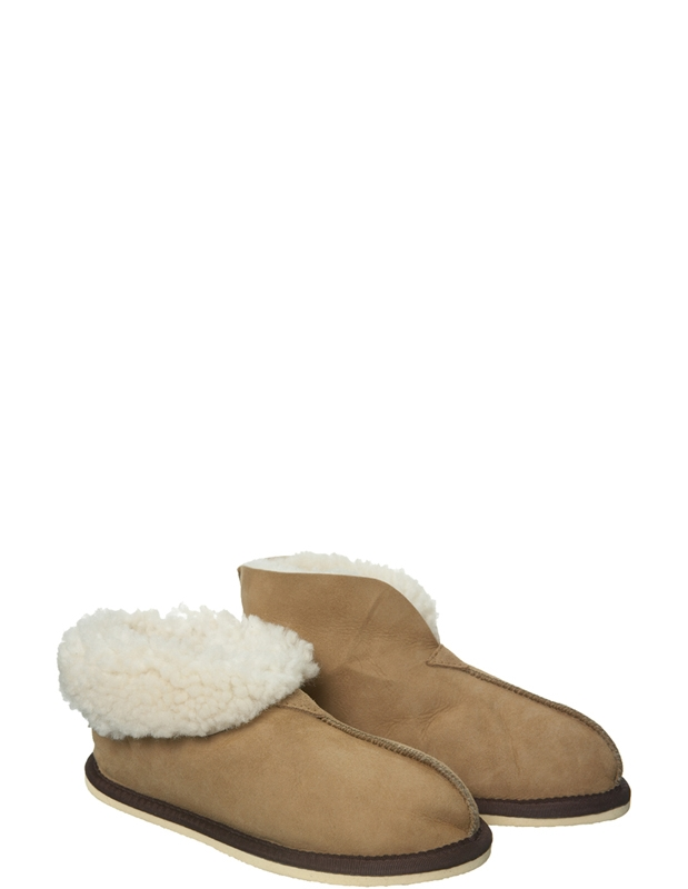 Kids Bootee Slippers - Size 7-8 - Spice - 522