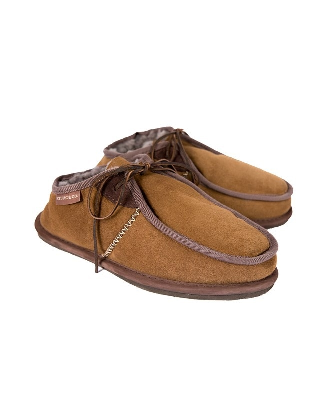 Mens Slipper - Size 9 - Khaki - 625