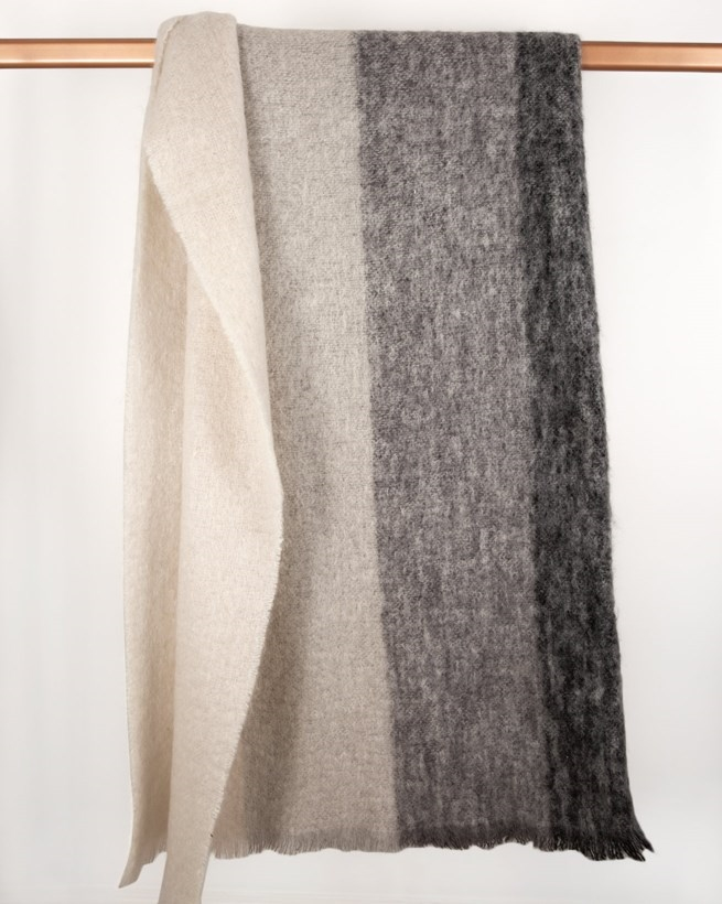 Mohair Wool Throw