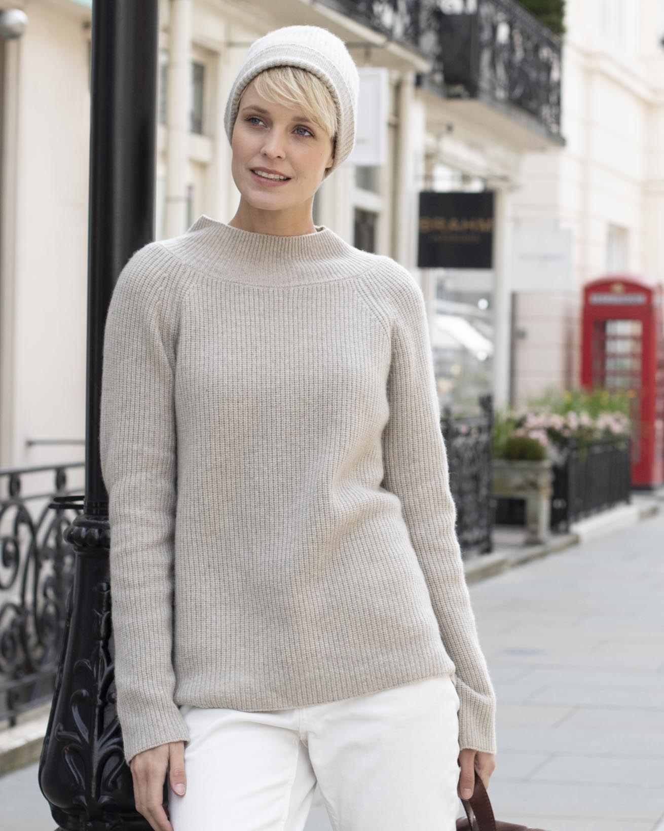 Eco Luxe Cashmere Sweater