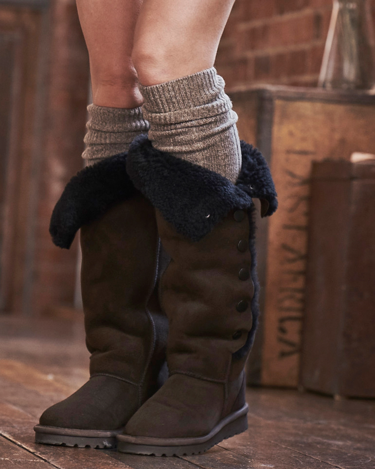 Ladies' Boot Socks