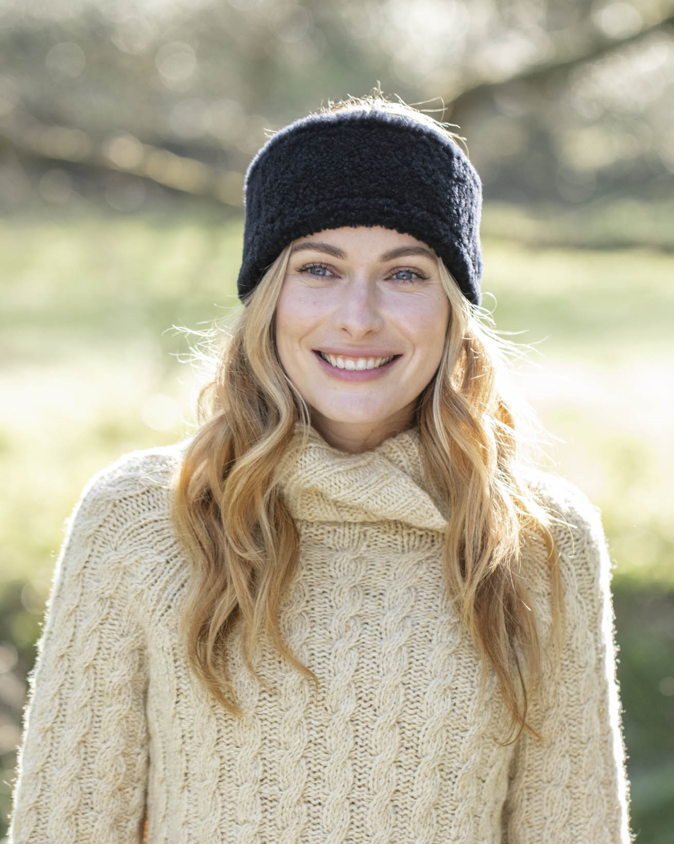 Shearling Merino Headband