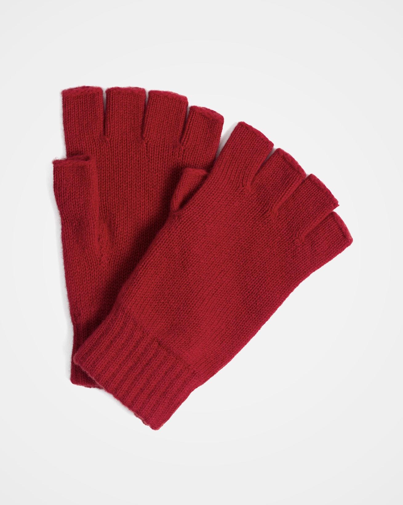 Cashmere Fingerless Gloves