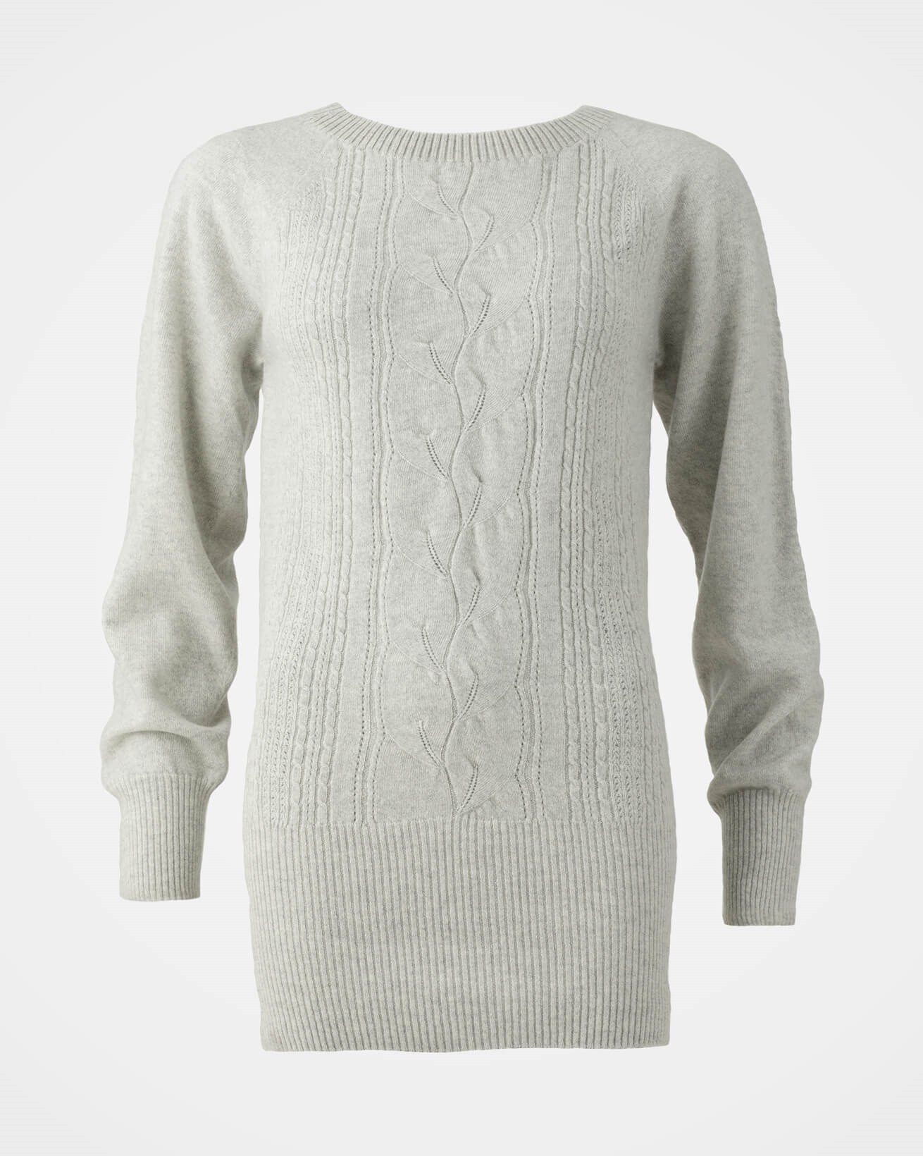Lace Cable Supersoft Jumper - Size Extra Small - Fossil - 1627