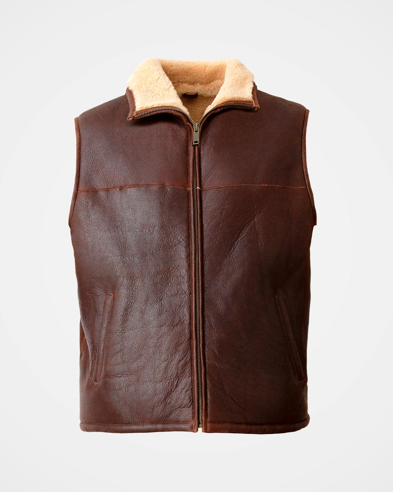 Men S Sheepskin Bodywarmer