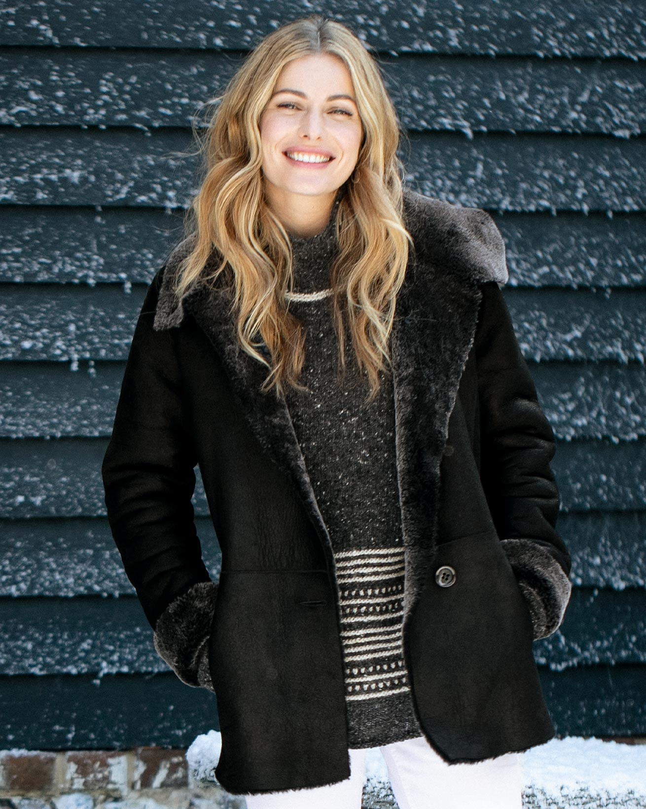 Sheepskin Box Jacket