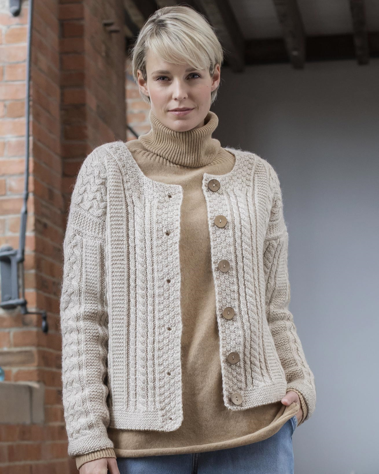 Cable Cardi