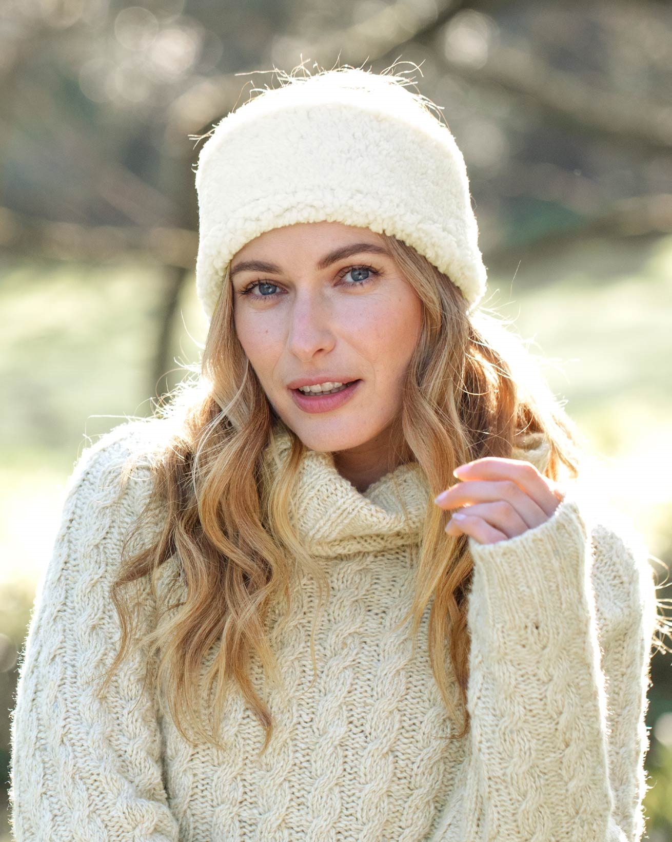 Sheepskin Merino Headband