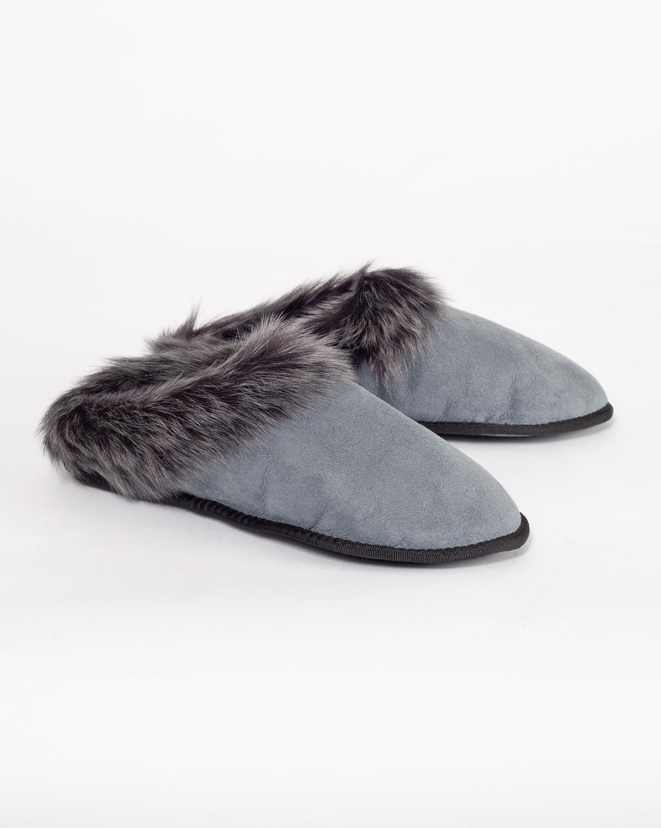 Toscana Cobi Slipper - Light Grey - Size 4 - 1217